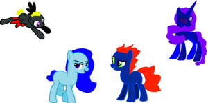 shadow storm and some of her group by shadowandtwilight