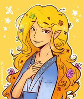 Glorfindel by blargberries