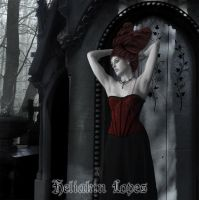 Lady of the  Cemetery 02 by Heliakin