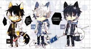 [AUCTION*CLOSED]Lineheart*35 [MAFIA] by Relxion-kun