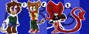 Sonic Adoptables 128CLOSED by DarkBlueGlass