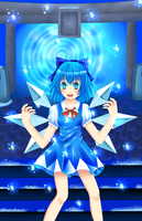 cirno by MoonStarAnna