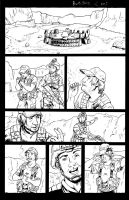 RvB:BGC page 1 inked by TheRogueSPiDER