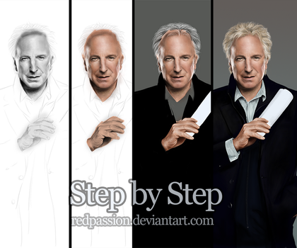 Alan Rickman - Step by Step by RedPassion