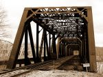 Railroad Bridge by mlidikay