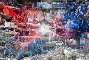 Apocalyptic Interpenetration #3 by cloistering