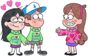 Dipper and Candy's New Sweaters by nintendomaximus