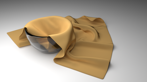 Bowl with cloth by IdanCarre