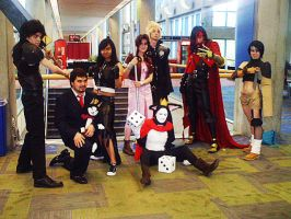 Fanime'11: FF VII Avalanche by theEmperorofShadows