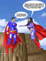 Superwoman-3D by TrekkieGal
