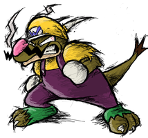DRAGON WARIO by Rage28
