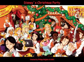 Disneys Christmas Party by Abbadon82