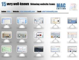 Skinning Website Icons MACPACK by bezem049