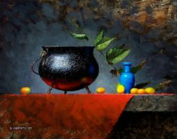 cauldron and kumquats by turningshadow
