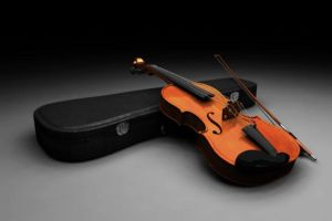 Violin Modeling and Lighting by southercomfort
