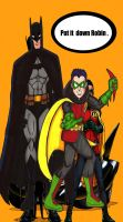 Bat Man and Robin by RWhitney75