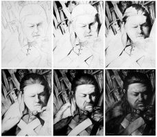 Work in process - Eddard Stark by MeduZZa13