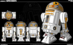 Star Wars - R2-D3 by cosedimarco