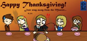 Happy TARDISgiving by InvaderJes11