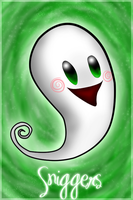 Sniggers the Living Room Ghost by Dakotaa