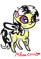 Winged pony adopt (CLOSED) 10 points! by Mifune-circus