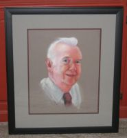 Framed portrait of a man by eightdaysearly