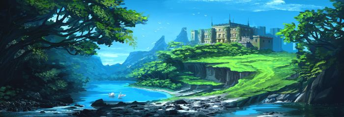 Castle by huyztr