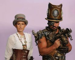 steam,cirquepunk by overlord-costume-art
