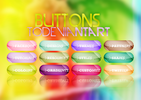 Customize ur dA +Buttons by CandyBiebs