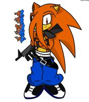 Chino The Hedgehog :practica: by Ivan102