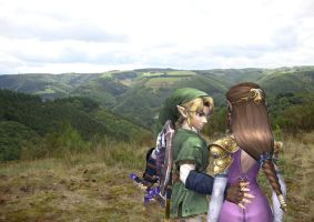 Look at the view by Link-of-the-twilight