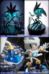 SILVER THE HEDGEHOG (EXCLUSIVE) - STATUE - by mathi88