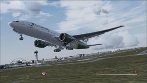 deviantAIR Boeing 777 departure from KLAX by HYPPthe