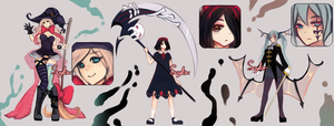 A Witch A Reaper and A Vampire auction (Closed) by Saylor-boo