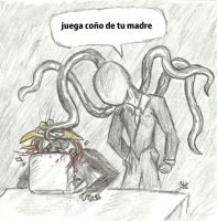 dross juega slenderman by Redmask94