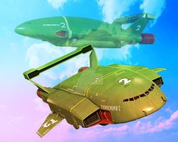 For the love Thunderbird 2 by stick-man-11