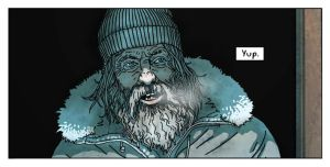 panel from graphic novel The Pulse by samuraipeter