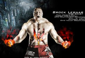 Brock Lesnar - Wallaper ! by mikelshehata