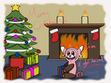 Merry Christmas 2016! by LadyCharizard