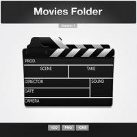 Movies Folder Icon by limav