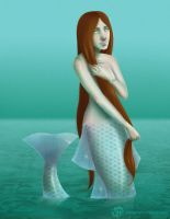 Celtic Mermaid by Vimeddiee