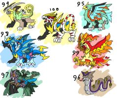 monster pack 11 by ObsidianWolf7