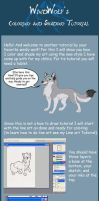 Coloring and Shading Tutorial  by WindWo1f