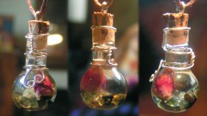 Magic Vial - Budding Heart 2 by Izile
