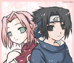 Sasuke and Sakura by ymira