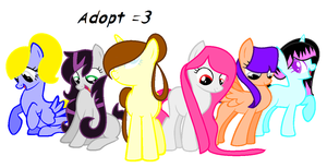 Adopt-Ponies =3 for 2 points by ElisaArt-CzWolf