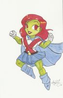 Miss Martian by AmberStoneArt