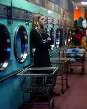 Chinatown Laundromat by Dr-Mabuse