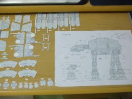 AT-AT - Star Wars - Papercraft by Gust-TRON
