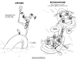 Wet Money - Virtues-Economics by GoldeenHerself
